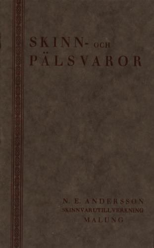 Katalog NE Andersson (PG) 01