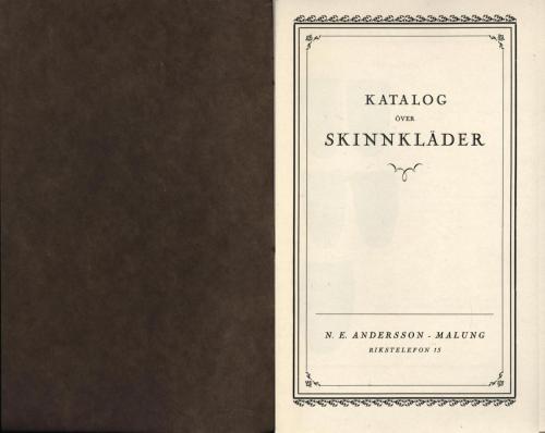 Katalog NE Andersson (PG) 02