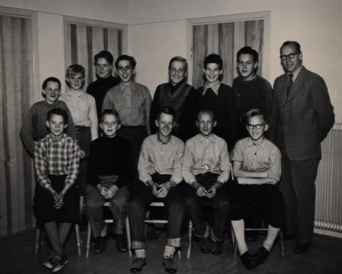 Skinnskolan 1953-54
