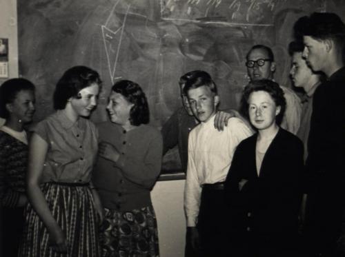 Skinnskolan 1955-56 bild02