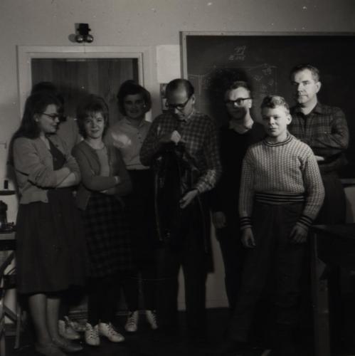 Skinnskolan 1961-62 (Namn finns)