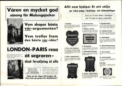 Tidningen Nytt i skinn 1959 blad 05